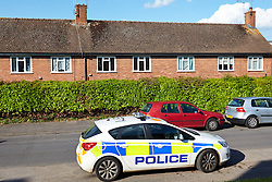 © Licensed to London News Pictures.  14/05/2014. CHESHAM, UK. General view of the block of flats in Deansway, Chesham where a 2 week old baby was found dead this morning. Police are treating it as unexplained but have arrested a 38 year old woman, thought to be the baby's mother on suspicion of overlaying. The unusual offence dates back to the Children and Young Persons Act 1933 and is described as suffocating a child under three years while in bed with them when intoxicated. Photo credit: Cliff Hide/LNP