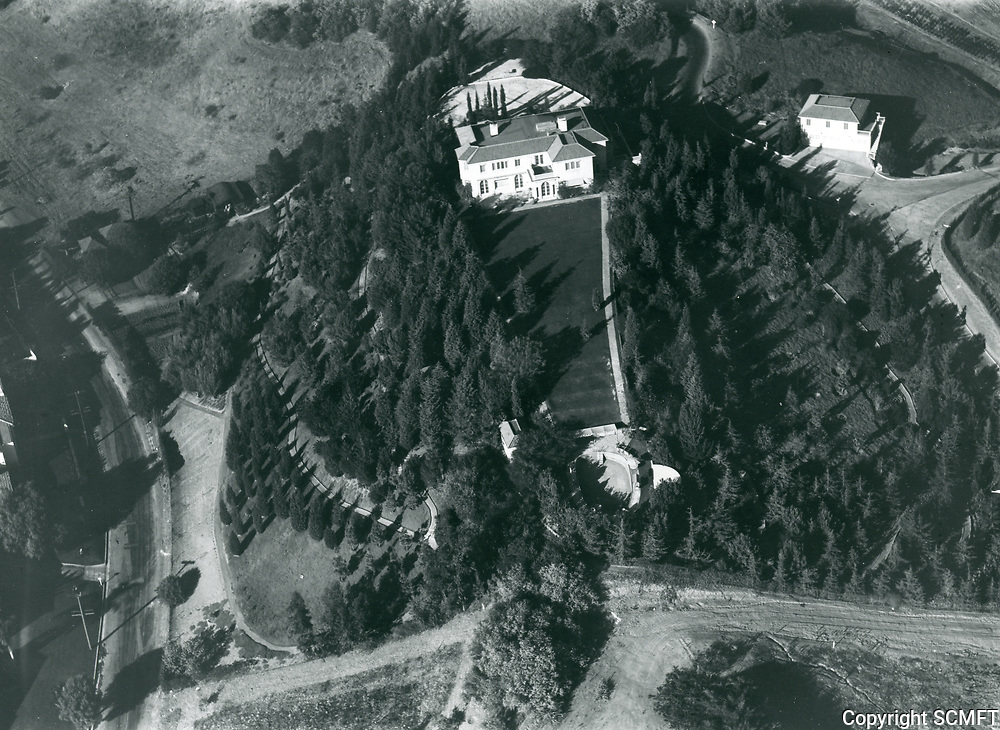 1928 Residence of Charles Chaplin in Beverly Hills