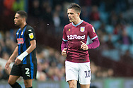Jack Grealish of Aston Villa (10) during the EFL Sky Bet Championship match between Aston Villa and Rotherham United at Villa Park, Birmingham, England on 18 September 2018.