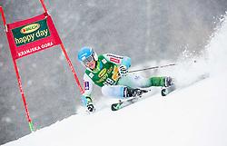 Jakob Spik (SLO) competes during 1st Run of 10th Men's Giant Slalom race of FIS Alpine Ski World Cup 55th Vitranc Cup 2016, on March 5, 2016 in Kranjska Gora, Slovenia. Photo by Vid Ponikvar / Sportida