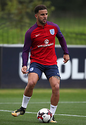 England's Kyle Walker during a training session at St Georges' Park, Burton.