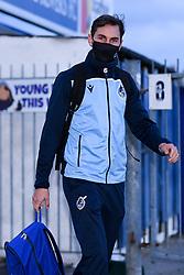 Edward Upson of Bristol Rovers arrives at Memorial Stadium prior to kick off - Mandatory by-line: Ryan Hiscott/JMP - 03/11/2020 - FOOTBALL - Memorial Stadium - Bristol, England - Bristol Rovers v Peterborough United - Sky Bet League One