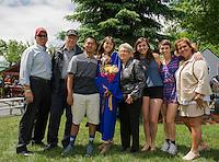 GHS Graduation Remick Family.  ©2016 Karen Bobotas Photographer