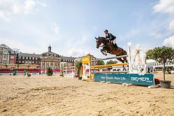 TEBBEL Maurice (GER), DON DIARADO<br /> Münster - Turnier der Sieger 2019<br /> Preis des EINRICHTUNGSHAUS OSTERMANN, WITTEN<br /> CSI4* - Int. Jumping competition  (1.45 m) - <br /> 1. Qualifikation Mittlere Tour<br /> Medium Tour<br /> 02. August 2019<br /> © www.sportfotos-lafrentz.de/Stefan Lafrentz