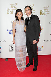 © Licensed to London News Pictures. 03/05/2015. London, UK. Katie Melua and James Toseland arrive at the Midsummer Ball in Whitehall, London in aid of Together for Short Lives, the UK charity for seriously ill children. Photo credit : Vickie Flores/LNP