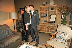 VIP reception of the Pavilion of Art & Design London 2010 held in Berkeley Square, London on 12th October 2010.<br /> Picture Shows:-TIM & MALIN JEFFERIES.