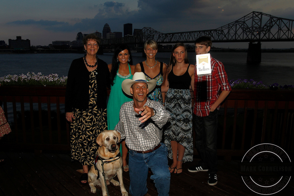 K9 Care  Montana event at Buckheads on the River  on  Saturday June 22, 2013 in  New Albany IN. Photo by Mark Cornelison