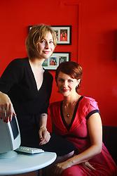 Patrícia Pontalti (e) e Patrícia Parenza. FOTO: Jefferson Bernardes/Preview.com
