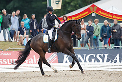 Svanberg Anna, (SWE), Revolution 25<br /> First Qualifier 6 years old horses<br /> World Championship Young Dressage Horses - Verden 2015<br /> © Hippo Foto - Dirk Caremans<br /> 07/08/15