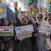 Kashmiri protest against Indian Occupied Kashmir and rape and murder of an 8 years old Muslim child