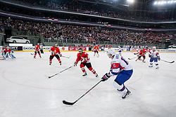 Blaz Gregorc of Slovenia during ice-hockey match between Slovenia and Hungary at IIHF World Championship DIV. I Group A Slovenia 2012, on April 18, 2012 in Arena Stozice, Ljubljana, Slovenia.  (Photo by Vid Ponikvar / Sportida.com)
