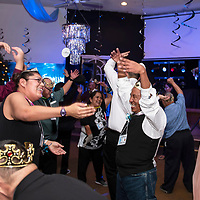 """Honored guests and volunteers dance to YMCA at """"Night to Shine,"""" Friday, Feb. 8, at New Life Christian Assembly Church in Pinedale. """"Night to Shine"""" is a prom for local teens and adults with special needs sponsored by the Tim Tebow Foundation."""