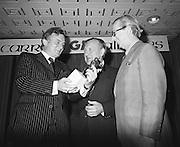 13.11.1973 Crawford Reception & Presentation at Tara Towers Hotel