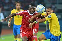 Thievy Bifouma ( Congo ) - Johann Obiang ( Gabon )