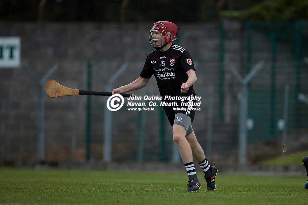 06-08-21, <br /> J2HC 2020 Final at Pairc Tailteann, Navan.<br /> Boardsmill v Dunderry<br /> David Gilkeson celebrates a Dunderry goal<br /> Photo: David Mullen / www.quirke.ie ©John Quirke Photography, Proudstown Road Navan. Co. Meath. 046-9079044 / 087-2579454.<br /> ISO: 3200; Shutter: 1/1250; Aperture: 4;