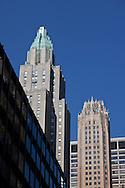 New York. Waldorf Astoria hotel tower New York  Etats unis