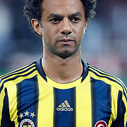 Fenerbahce's Cristian Oliveira BARONI during their Turkish Superleague Derby match Besiktas between Fenerbahce at the Inonu Stadium at Dolmabahce in Istanbul Turkey on Thursday, 207 October 2011. Photo by TURKPIX