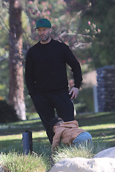 EXCLUSIVE: Rosie Huntington and Jason Statham takes their kid to the park in Beverly Hills **SPECIAL INSTRUCTIONS*** Please pixelate children's faces before publication.***. 20 Feb 2020 Pictured: Rosie Huntington and Jason Statham. Photo credit: MEGA TheMegaAgency.com +1 888 505 6342