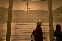Display of Ground Zero at the Hiroshima Peace Museum. Image 2 of 19 taken with a Fuji X-T1 camera and 23 mm f/1.4 lens (ISO 800, 23 mm, f/1.4, 1/30 sec).