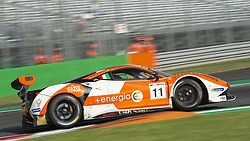 September 23, 2018 - RS Racing (D'Amato/Montermini) at first chicane in Monza during the second qualifying session of International GT Open 2018. (Credit Image: © Riccardo Righetti/ZUMA Wire)