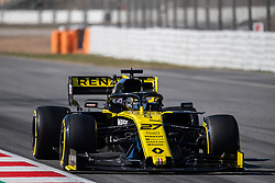 February 26, 2019 - Montmelo, BARCELONA, Spain - BARCELONA, SPAIN, 26th of February 2019. #27 Nico Hülkemberg driver of Renault f1 team during the winter test at Circuit de Barcelona Catalunya. (Credit Image: © AFP7 via ZUMA Wire)