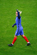 Antoine Griezmann (FRA) scored the first goal and celebrated it during the 2017 Friendly Game football match between France and Wales on November 10, 2017 at Stade de France in Saint-Denis, France - Photo Stephane Allaman / ProSportsImages / DPPI