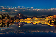 Sunrise at Ox Bow bend in Grand Teton National Park