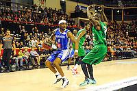 Lionel Chalmers  - 29.11.2014 - Lyon Villeurbanne / Chalon Reims - 10e journee Pro A<br /> Photo : Jean Paul Thomas / Icon Sport