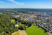 Nederland, Gelderland, Arnhem, 30-09-2015; Sonsbeek Park met Stadsvilla Sonsbeek (Witte Villa of Huis Sonsbeek). Noordwestelijkk deel van Arnhem (Sonsbeek-Noord, Sint Marten).<br /> Town villa and estate, now city park Arnhem.<br /> luchtfoto (toeslag op standard tarieven);<br /> aerial photo (additional fee required);<br /> copyright foto/photo Siebe Swart