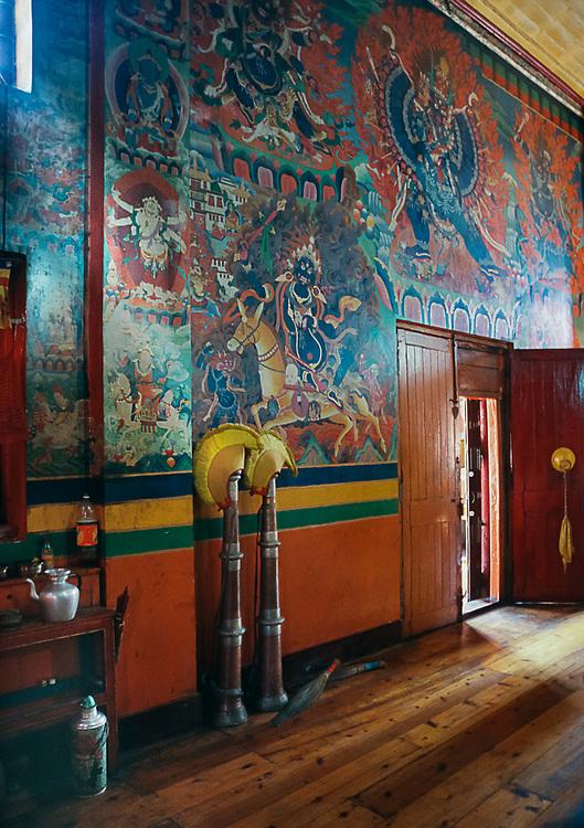 Rumtek Monastery Interior