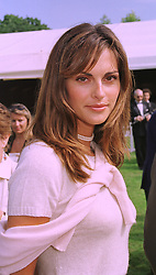 MISS TASHA DE VASCONCELOS MOTA E CUNHA a friend of Prince Albert of Monaco, at a reception in Paris on 6th September 1998.MJR 33