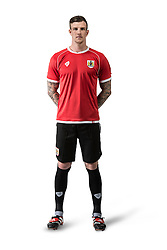 Bristol City's Aden Flint - Photo mandatory by-line: Joe Meredith/JMP - Mobile: 07966 386802 09/07/2014 - SPORT - FOOTBALL - Bristol - Ashton Gate - Bristol City Kit Launch
