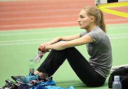 Laura Nørrung Poulsen. Danske Mesterskaber indendørs i atletik 2017  i Spar Nord Arena, Skive, Denmark, 18.02.2017. Photo Credit: Allan Jensen/EVENTMEDIA.