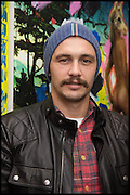 JAMES FRANCO, James Franco exhibition 'Fat Squirrel' at Siegfried Contemporary, Basset Rd, London W10. 23 November 2014.