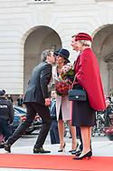 03.10.2017. Copenhagen, Denmark. <br /> Crown Prince Frederik, Princess Marie, Prince Joachim, Princess Benedikte attended the opening session of the Danish Parliament (Folketinget) at Christiansborg Palace in Copenhagen, Denmark.<br /> Photo: © Ricardo Ramirez