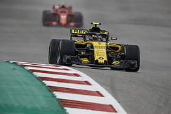 October 19, 2018 - Austin, United States - 55 SAINZ Carlos (spa), Renault Sport F1 Team RS18, action during the 2018 Formula One World Championship, United States of America Grand Prix from october 18 to 21 in Austin, Texas, USA -  /   Motorsports: FIA Formula One World Championship; 2018; Grand Prix; United States, FORMULA 1 PIRELLI 2018 UNITED S GRAND PRIX , Circuit of The Americas  (Credit Image: © Hoch Zwei via ZUMA Wire)