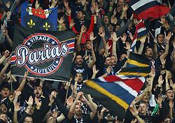 November 6, 2018 - Naples, Italy - SSC Napoli - Paris Saint-Germain : UEFA Champions League Group C .Paris-Saint Germain supporters at San Paolo Stadium in Naples, Italy on November 6, 2018. (Credit Image: © Matteo Ciambelli/NurPhoto via ZUMA Press)