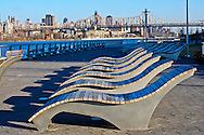 Gantry Plaza State Park, Long Island City, Queens, NYC, NY