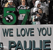 An emotional pregame ceremony remembered the life of Aurora's Paul McGhee at Byers Field in Parma on November 25, 2011.