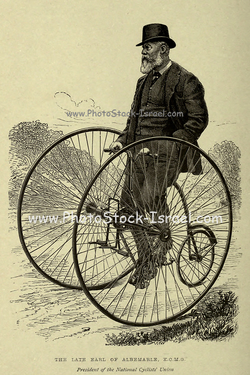 Cycling by The right Hon. Earl of Albemarle, William Coutts Keppel, (1832-1894) and George Lacy Hillier (1856-1941); Joseph Pennell (1857-1926) Published by London and Bombay : Longmans, Green and co. in 1896. The Badminton Library