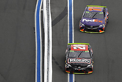 September 30, 2018 - Concord, North Carolina, United States of America - Erik Jones (20) races during the Bank of America ROVAL 400 at Charlotte Motor Speedway in Concord, North Carolina. (Credit Image: © Chris Owens Asp Inc/ASP via ZUMA Wire)