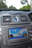 2007 Maserati Quattroporte Sport GT (Bianco Eldorado) .Centre console and navigation unit .Corporate Drive Day with Octane Events & The Supercar Club.Mornington Pennisula, Victoria .6th-7th of August 2009 .(C) Joel Strickland Photographics