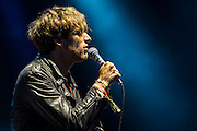 Paolo Nutini plays the Other Stage. The 2014 Glastonbury Festival, Worthy Farm, Glastonbury. 27 June 2013.  Guy Bell, 07771 786236, guy@gbphotos.com