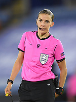 Football - 2020 / 2021 Europa League - Group F - Leicester City vs Zorya Luhansk - King Power Stadium<br /> <br /> Referee Stéphanie Frappart.<br /> <br /> COLORSPORT/ASHLEY WESTERN