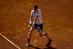 May 4, 2018 - Estoril, Portugal - Kyle Edmund from Great Britain returns the ball to Joao Sousa From Portugal  during their Millennium Estoril Open ATP Singles  tennis match, in Estoril, near Lisbon, on May 4, 2018. (Credit Image: © Carlos Palma/NurPhoto via ZUMA Press)