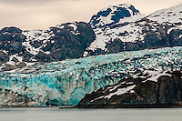 Lamplugh Glacier, Glacier Bay National Park (a UNESCO World Heritage Site), Southeast Alaska USA.