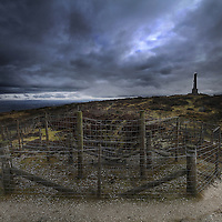 Kit Hill stack and mine at Callington, Cornwall