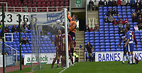 © Peter Spurrier/Sportsbeat Images <br /><br />04/10/2003 - Photo  Peter Spurrier<br />2003/04 Nationwide Football Div 1 Reading Town FC v Bradford City FC.<br />Bradford keeper Mark Paston collect the  ball.