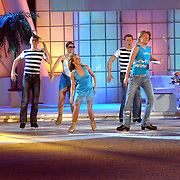 NLD/Hilversum/20070302 - 8e Live uitzending SBS Sterrendansen op het IJs 2007, Thomas Berge en schaatspartner Nina Ulanova
