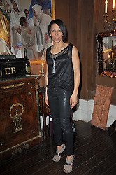 DAME KELLY HOLMES at a party to celebrate the publication of her new book - Kelly Hoppen: Ideas, held at Beach Blanket Babylon, 45 Ledbury Road, London W11 on 4th April 2011.
